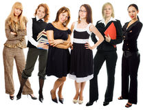Groupe de femme de gens Photo libre de droits