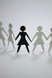 Groupe de femme II Image libre de droits
