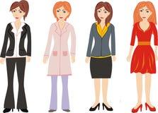 Groupe de femmes Image libre de droits