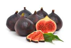 Groupe de figues mûres fraîches Photo stock