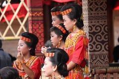Groupe de fille indonésienne Images libres de droits