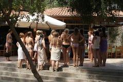 Groupe de filles Image stock