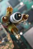 Groupe de fils et de câbles Images stock