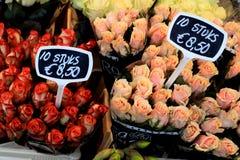 Groupe de fleur de roses Photographie stock libre de droits