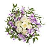 Groupe de fleurs Photo stock