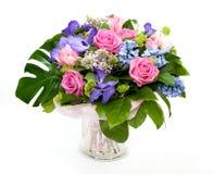 Groupe de fleurs Photographie stock libre de droits