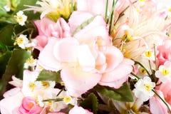 Groupe de fleurs artificielles Image libre de droits