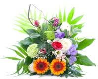 Groupe de fleurs coloré photos libres de droits