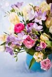 Groupe de fleurs de source Photos libres de droits