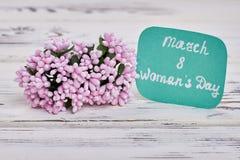 Groupe de fleurs minuscule Images libres de droits