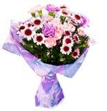 Groupe de fleurs roses photographie stock