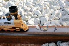 Groupe de fonctionnement (miniature) de pompier Photos stock