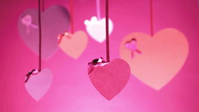 Groupe de fond de jour du ` s de Valentine de valentines clips vidéos