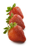 Groupe de fraises Images libres de droits
