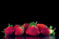 Groupe de fraises Image libre de droits