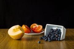 Groupe de fruits et légumes différents Photo libre de droits