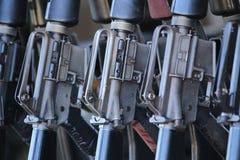 Groupe de fusils images libres de droits