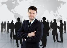 Groupe de gens d'affaires Image libre de droits