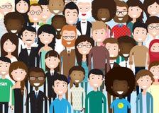 Groupe de gens d'affaires illustration stock