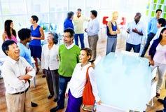 Groupe de gens d'affaires dans le concept de bureau Photos stock