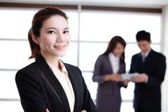 Groupe de gens d'affaires de succès Photo stock