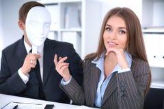 Groupe de gens d'affaires lors d'une réunion Concept négatif, manque de compréhension, manque d'accord Photos libres de droits