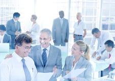 Groupe de gens d'affaires rencontrant le concept de conférence Photographie stock