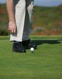 Groupe de golf Photos libres de droits