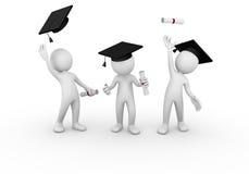 Groupe de graduation Photos libres de droits