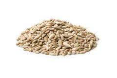 Groupe de graines de tournesol Photos stock
