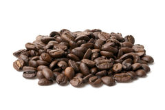 Groupe de grains de café Images stock