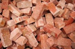 Groupe de grand dos de briques image libre de droits