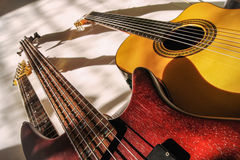 Groupe de guitares Photo stock