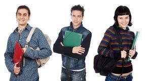 Groupe de jeunes étudiants photographie stock