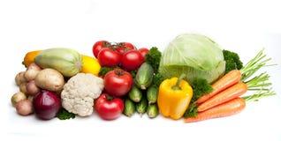 Groupe de légumes Photos stock