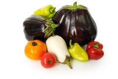 Groupe de légumes frais Image libre de droits