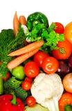 Groupe de légumes frais images stock