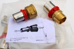 Groupe de la chaleur de circuit de refroidissement de valves Photographie stock libre de droits