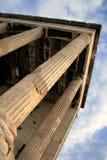 Groupe de la Grèce, Athènes - d'Erechtheum, l'Acropole image stock