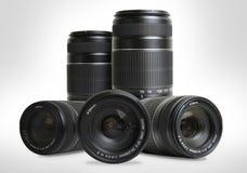 Groupe de lentilles Photographie stock libre de droits