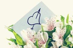 Groupe de lillies blancs de tigre Images stock