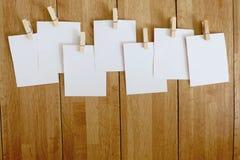Groupe de livres blancs Photos libres de droits
