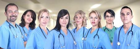 Groupe de médecins Images stock