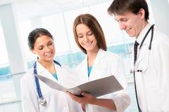Groupe de médecins Photographie stock libre de droits