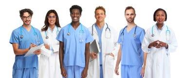 Groupe de médecins photo stock