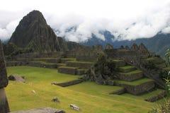 Groupe de Machu Picchu image libre de droits