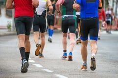 Groupe de marathoniens Photo libre de droits