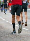 Groupe de marathoniens Photo stock