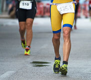 Groupe de marathoniens Image stock