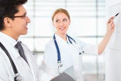 Groupe de médecins Image libre de droits